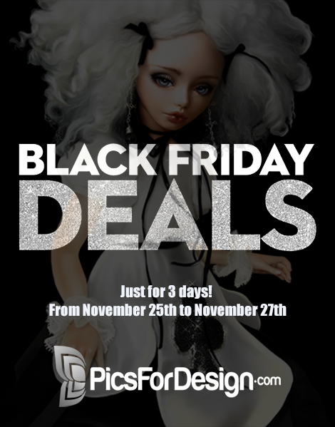Black Friday Illustrations